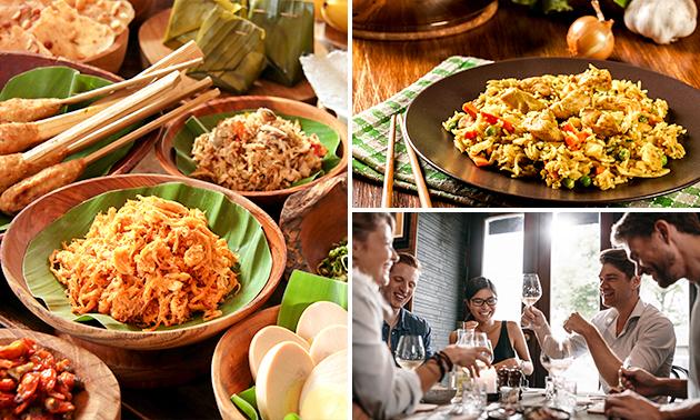 Afhalen: Indonesisch menu naar keuze