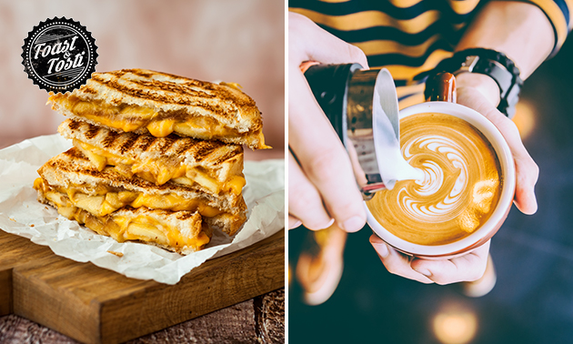 Afhalen: tosti + drankje naar keuze