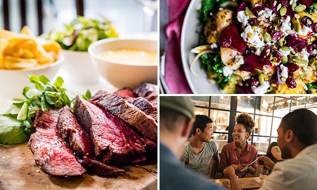 3-gangen keuzediner bij Toby´s Steakhouse