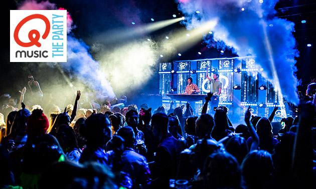 Ticket(s) voor Q-Music The Party + evt. overnachting