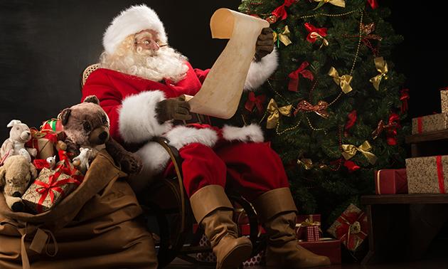 Persoonlijke videoboodschap van de  Kerstman