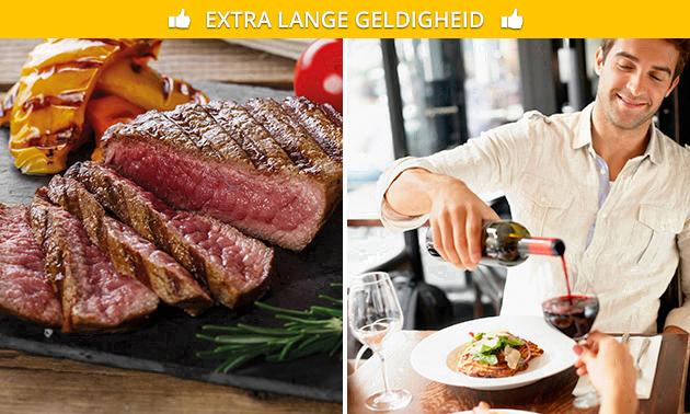 Steakplateau + friet en salade in hartje Heerenveen