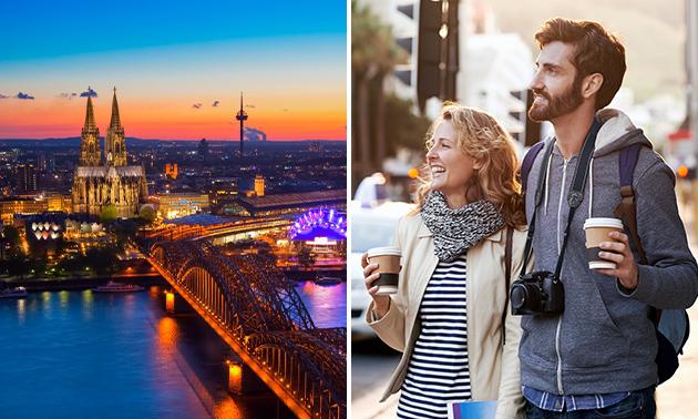 Stadtführung durch Köln für 1 oder 2 Pers.