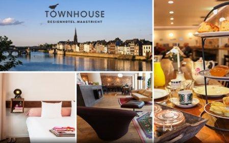 Townhouse maastricht overnachting ontbijt voor 2 for Design hotel maastricht