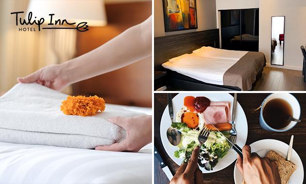 Overnachting voor 2 + ontbijt in Bergen op Zoom