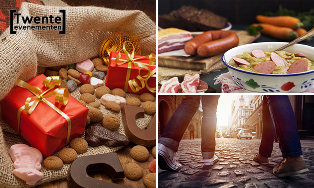 Sinterklaas-speurtocht (1,5 uur) + snoep + drankje + soep