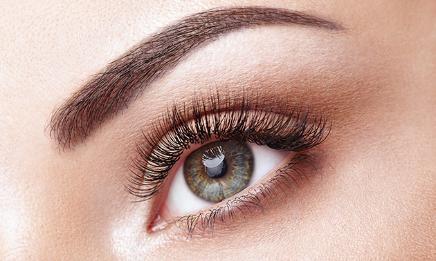 Wimperlifting of wimperextensions