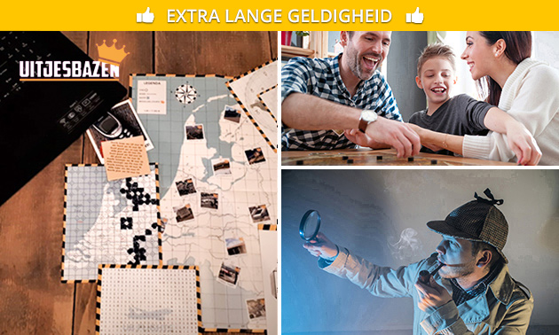 Online escape game bij jou thuis (2 tot 6 personen)