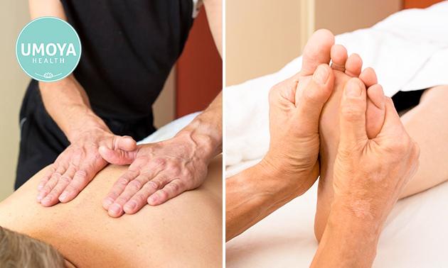 Holistische massage (70 min)