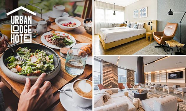 Overnachting + ontbijt voor 2 in Amsterdam