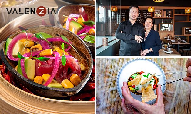 Culinair 4-gangendiner bij Valenzia by Zarzo