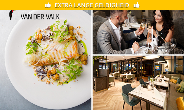 Shared dining + glas bubbels bij Van der Valk Vught