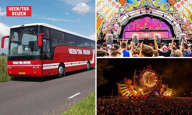 Busreis naar Mysteryland op 24 augustus