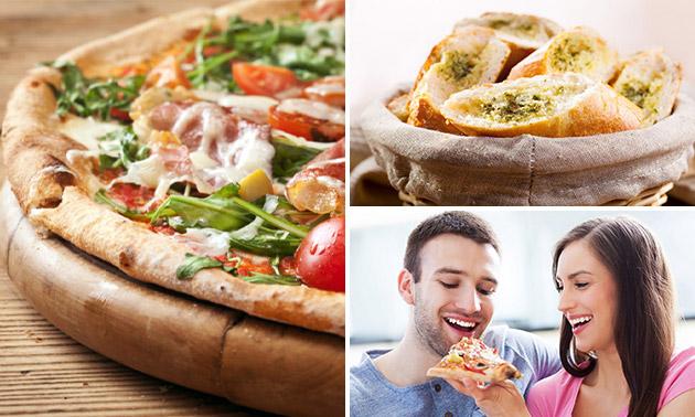 Pizza naar keuze op de pier van Scheveningen