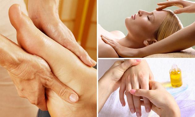 Voetreflex- of ontspanningsmassage (45 of 60 min)