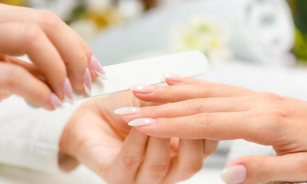 Manicurebehandeling + nagellak