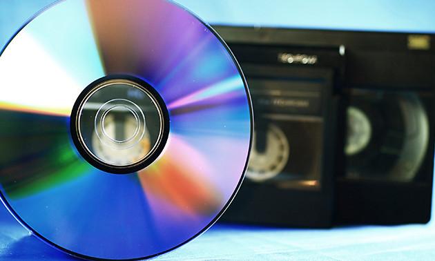 Videoband(en) naar dvd