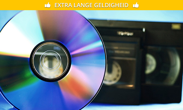 Videoband(en) naar dvd of .avi