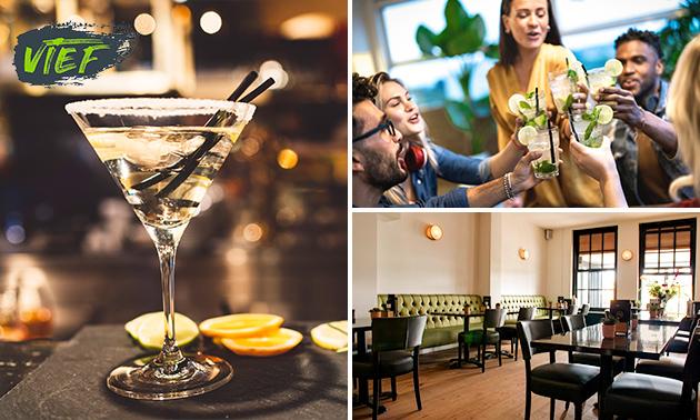 Cocktailworkshop bij Vief