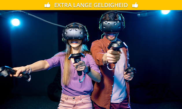 VR-experience (35 minuten) + drankje