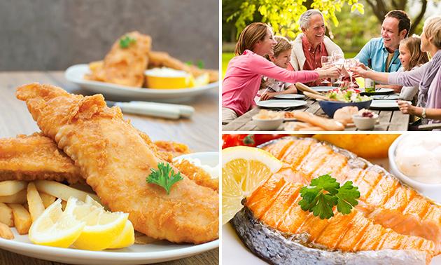 In hartje Leiden: waardebon voor verse vis