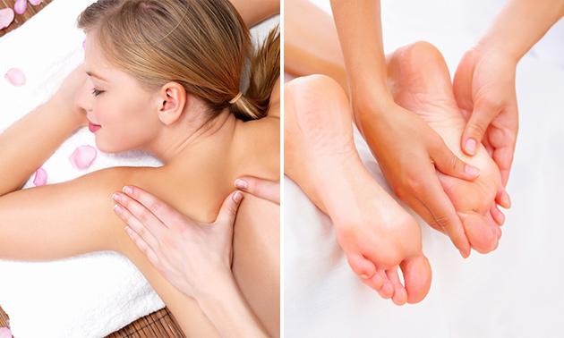 Ontspannings- of voetreflexmassage (60 min)