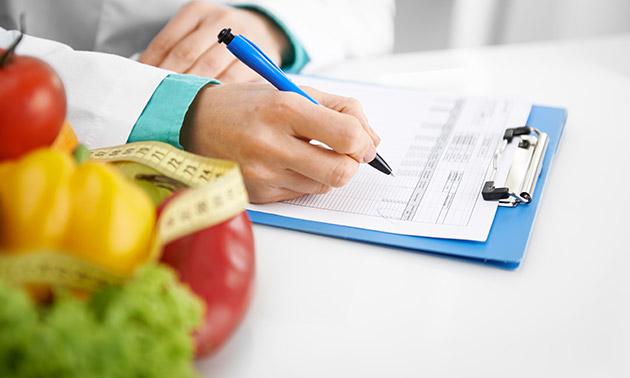 Persoonlijk voedingsadvies + check-up (60 min)