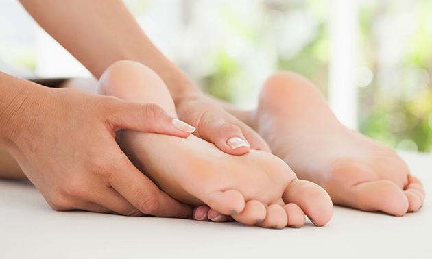 Voetreflexbehandeling + intake (50 min)