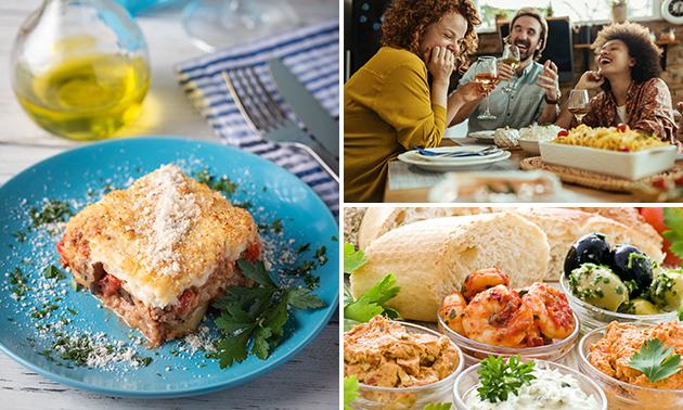 Afhalen: Grieks diner