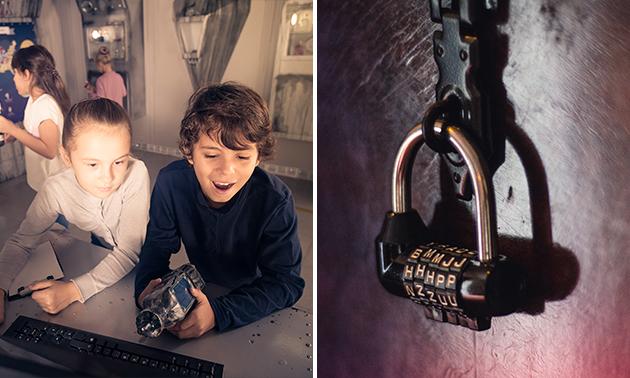 Escaperoom voor 4 tot 8 kinderen