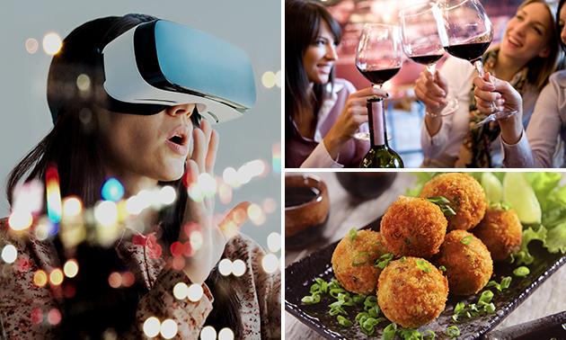 VR Experience (60 min) + bittergarnituur + drankje