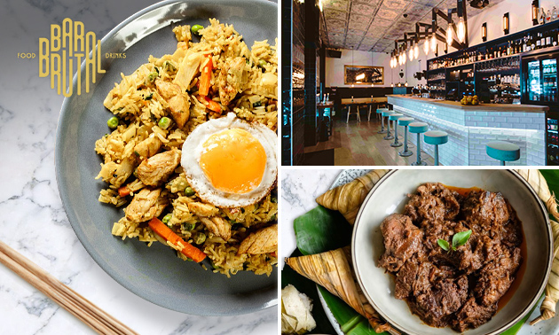 Afhalen: Indonesische rijsttafel bij Bar Brutal