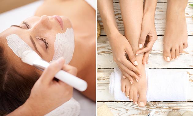 Luxe voet- en/of hoofdmassage