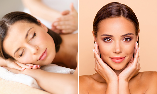 Massage van lichaam en gelaat + rugscrub (90 min)