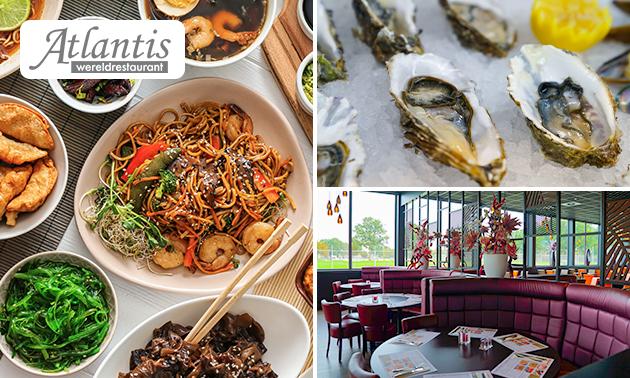 All-You-Can-Eat & Drink (3 uur) bij Wereldrestaurant Atlantis