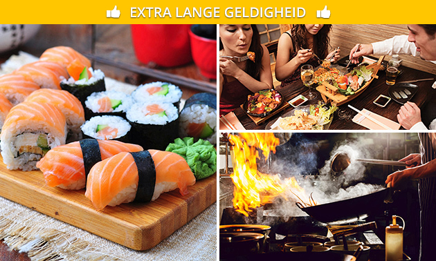 All-You-Can-Eat & Drink (3 uur) bij Wereldgeluk