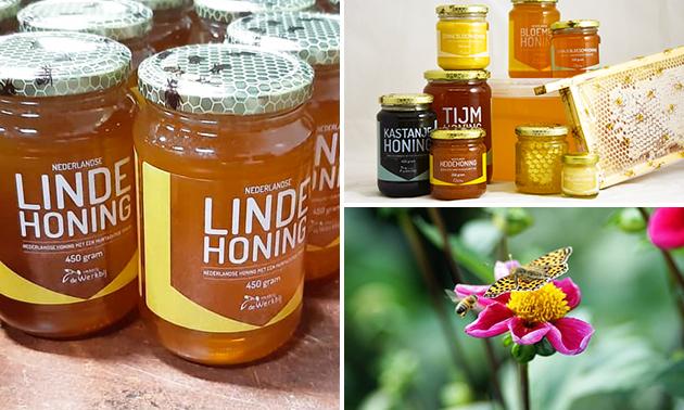Waardebon voor honingproducten