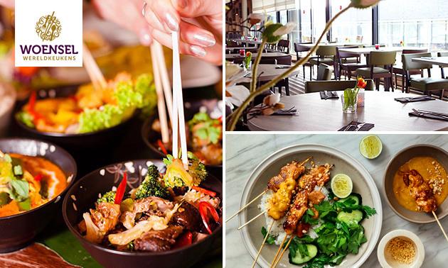Thuisbezorgd of afhalen: Aziatisch menu naar keuze