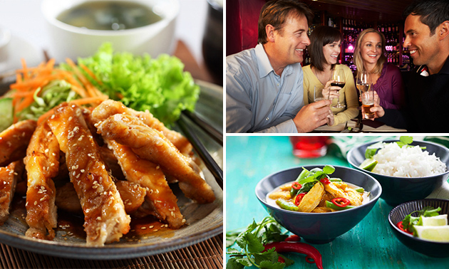 All-You-Can-Eat & Drink (3 uur) bij Wok Idols