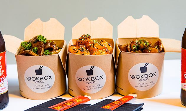 Afhalen: wokbox + bijgerecht bij WokBox Venlo