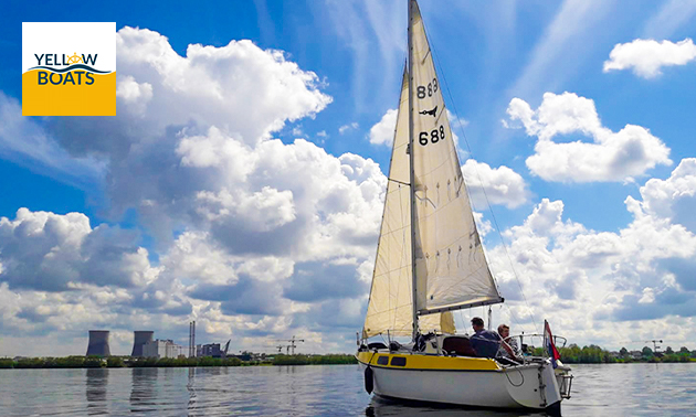 Huur motorboot voor max. 6 personen (4 uur)
