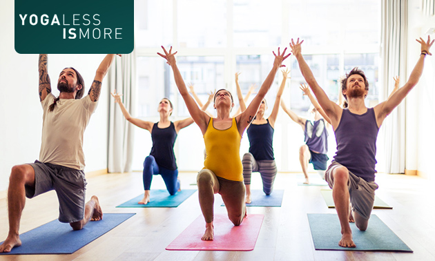 4 yogalessen (75 min) inclusief thee