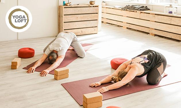 8 lessen yoga + workshop OF yoga-verwendag