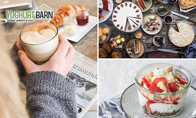 Ontbijt + drankje bij Yoghurt Barn in hartje Utrecht