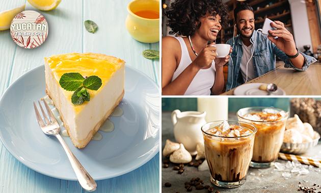 Luxe (ijs)koffie + gebak in hartje Ede