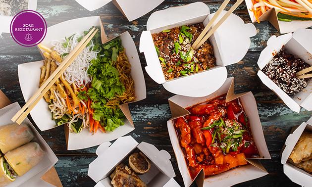 Thuisbezorgd of afhalen: wok-box + drankje naar keuze