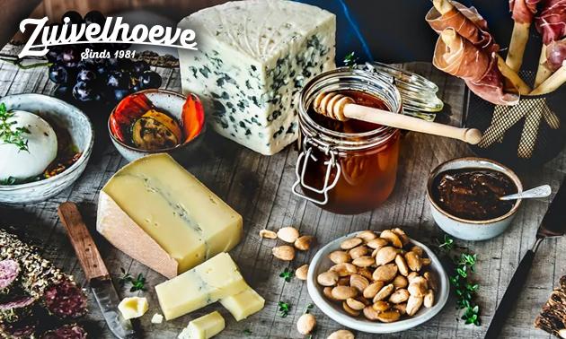 Waardebon voor kaas, noten, worst en meer