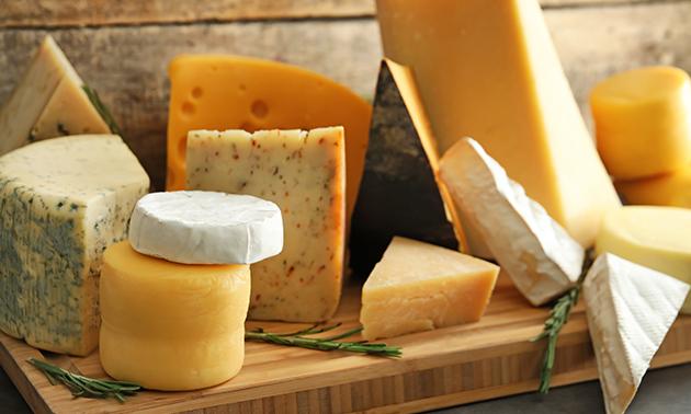 Waardebon voor kaas en noten