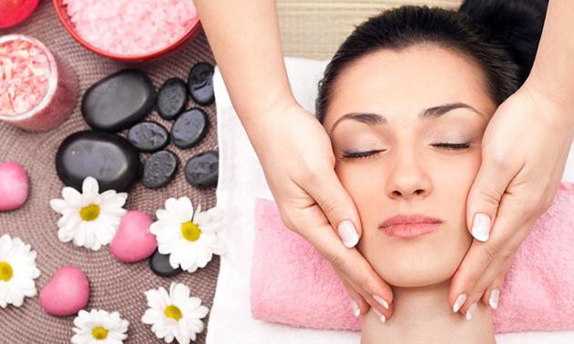 Facelift-massage van 60 minuten