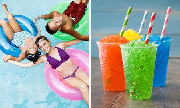 Entree zwembad + drankje